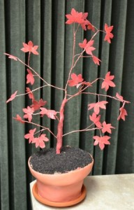 Japanese Maple Birthday Cake